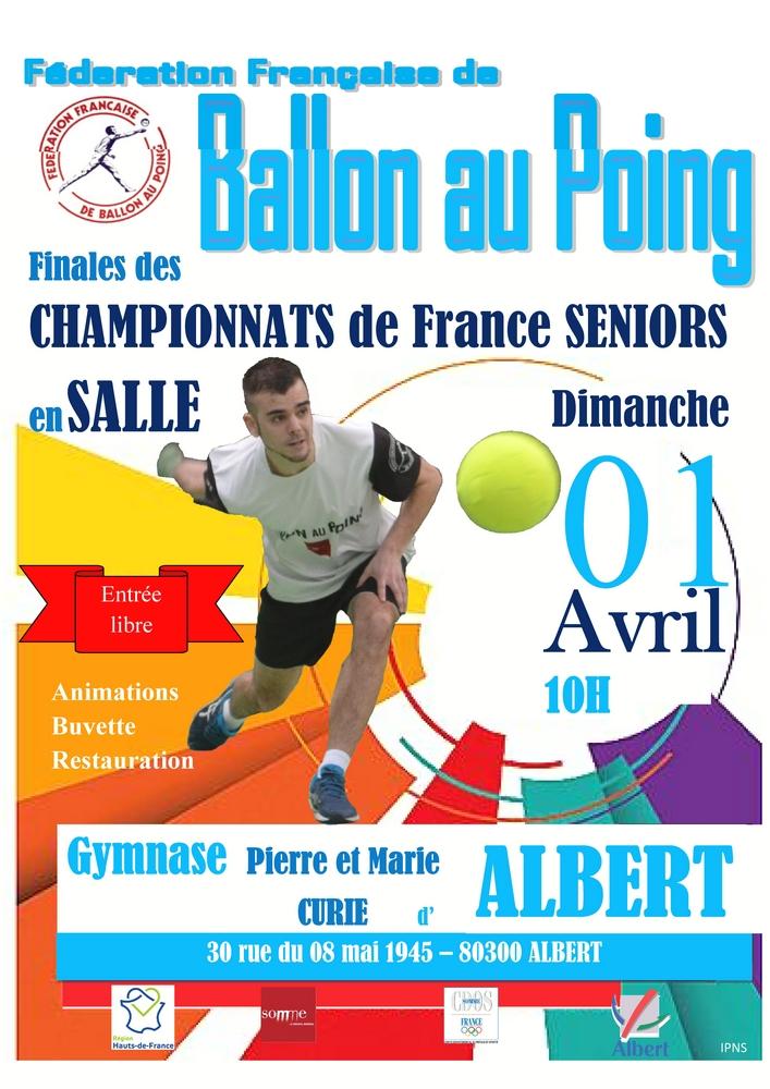 Ballon au poing - Finales seniors en salle @ Gymnase Pierre et Marie Curie | Albert | Hauts-de-France | France
