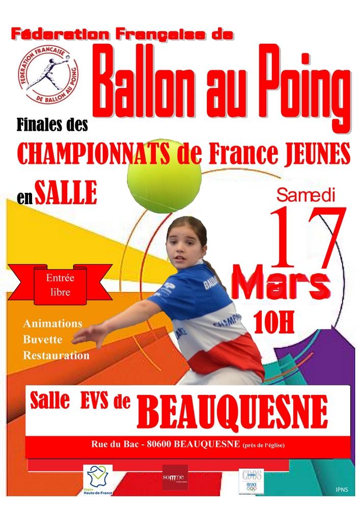 Ballon au poing - Finales jeunes en salle @ Salle des sports | Beauquesne | Hauts-de-France | France