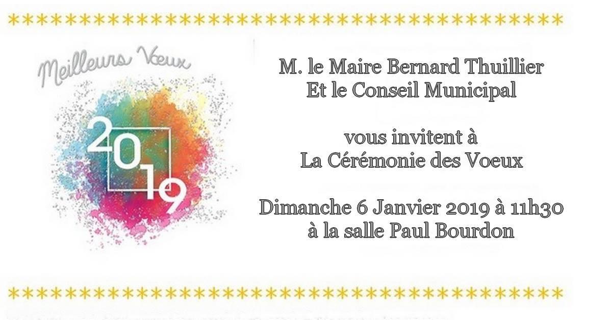 Vœux du Maire @ Salle Paul Bourdon | Beauval | Hauts-de-France | France